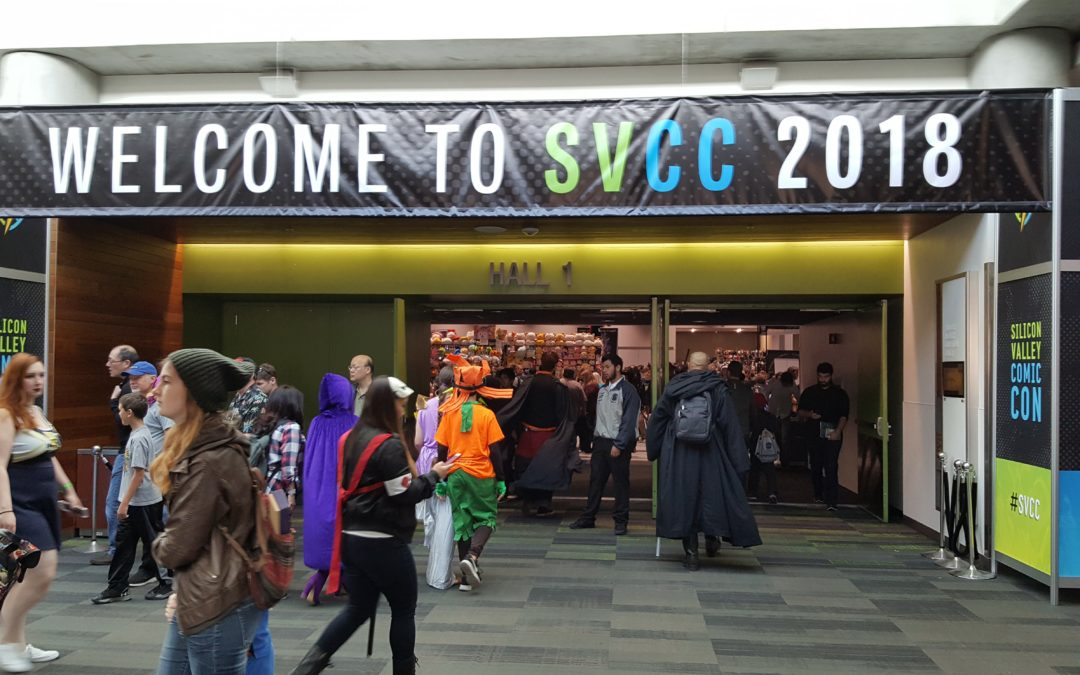 Nayah Sci Fi at Silicon Valley Comic Con 2018