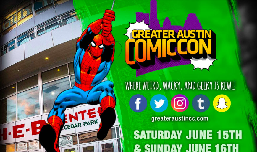 Greater Austin Comic Con @ H-E-B Center at Cedar Park