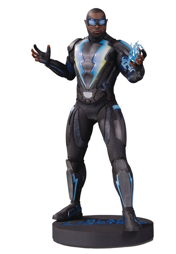 "<span style=""color: #993300;"">DC TV Black Lightning Statue</span>"